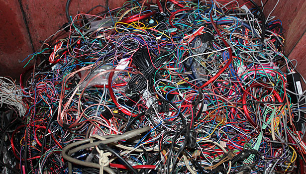 asb0714recycle4 wire harness recycling 2014 07 01 assembly magazine Wiring Harness Diagram at bakdesigns.co