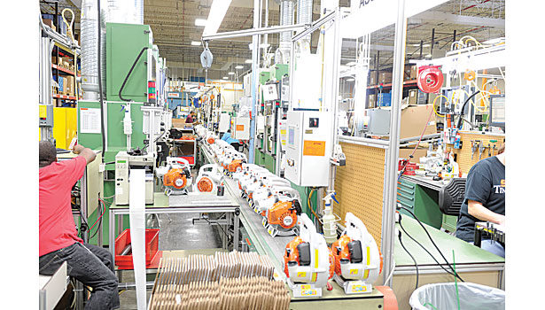 Assembly Plant of the Year: STIHL Stays a Cut Above the Competition