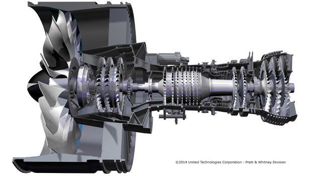 geared turbofan