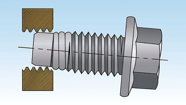 MATthread screw
