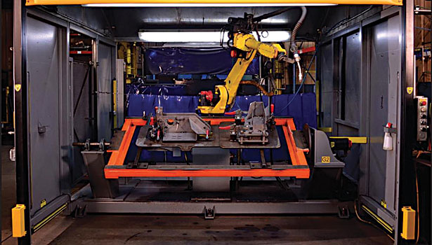 Safety Barriers Also Increase Productivity At Automotive