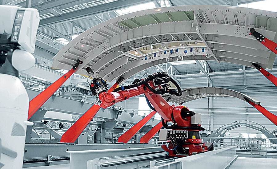 riveting in the aerospace industry Manufacturing technology - aerospace's secret sauce  large fixed auto- riveting machines are common, and industrial robots are beginning.