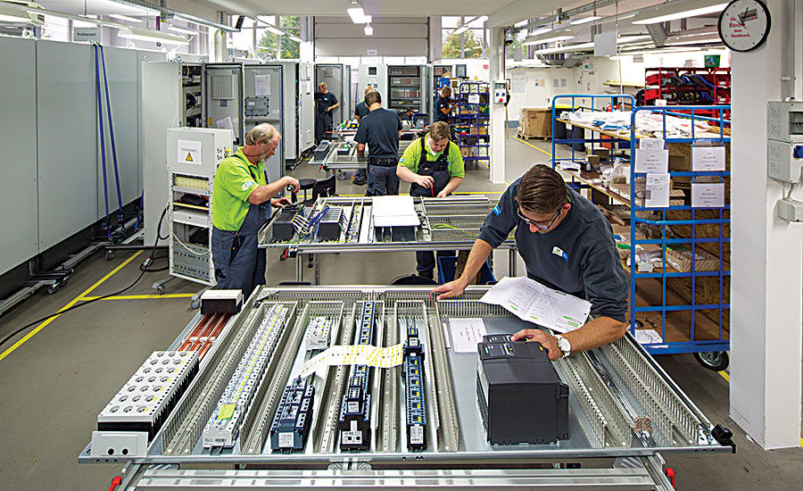 Schematic Software Doubles Production Of Control Cabinets
