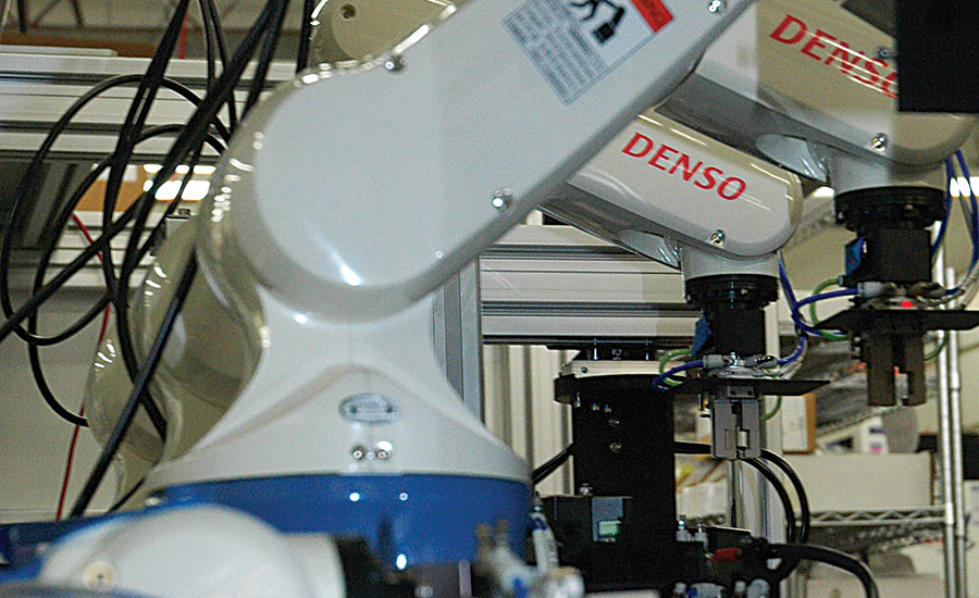 High Precision Assembly Line Features 24 Robots 2015 12