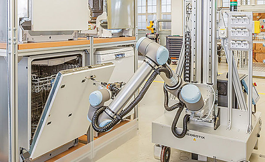 Appliance Manufacturers Look To Robots To Boost