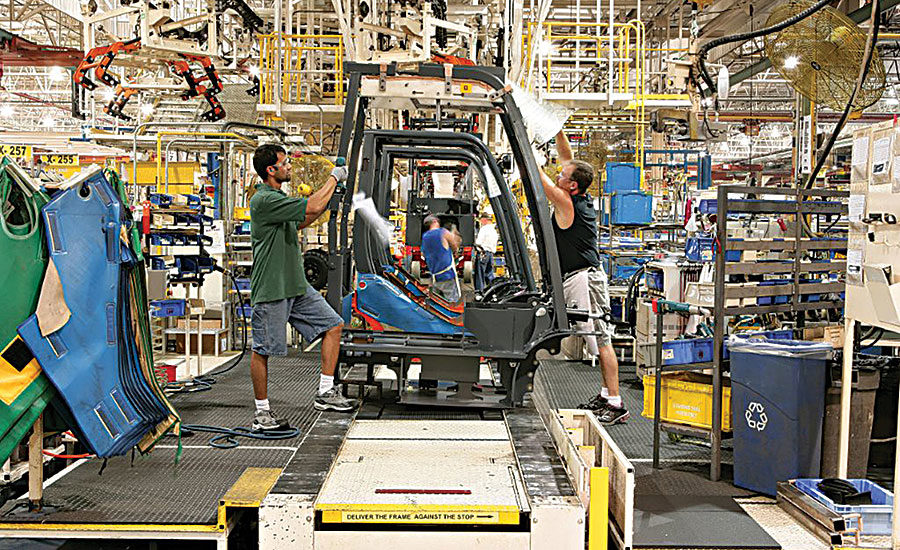 Forklift Assembly Plant Expands In Indiana 2015 08 28