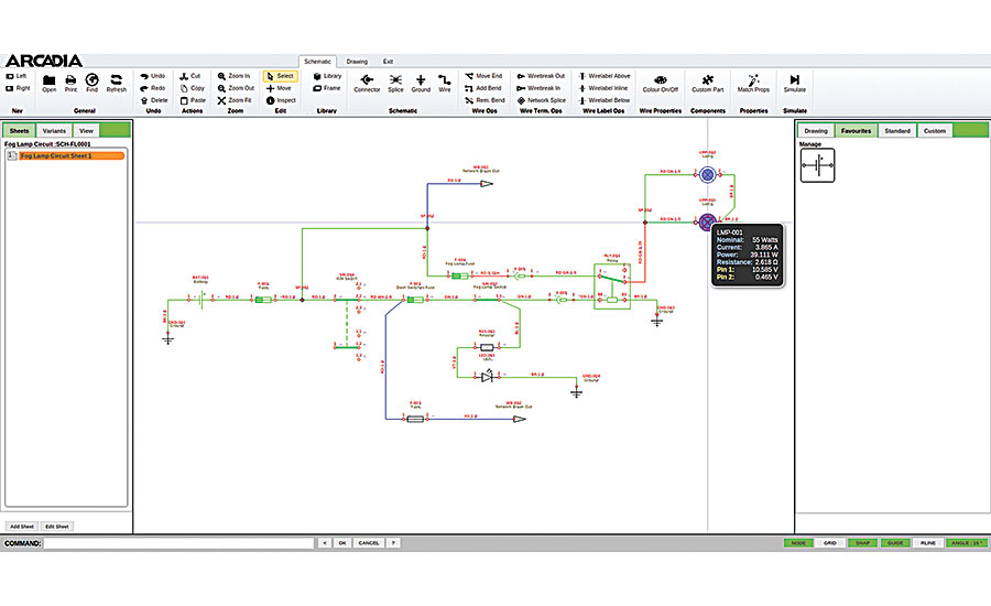 cloud based cad software aids wire harness design 2015 10 02 rh assemblymag com electrical wiring harness design software wiring harness design software download