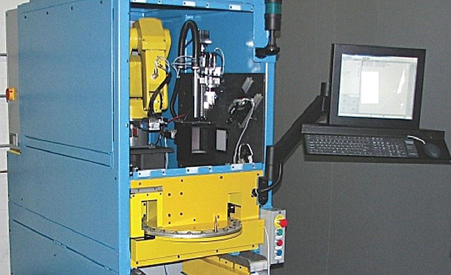 machine vision robot