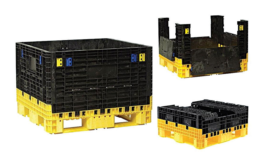 Collapsible Containers Improve Logistics at Kia Motors Assembly Plant