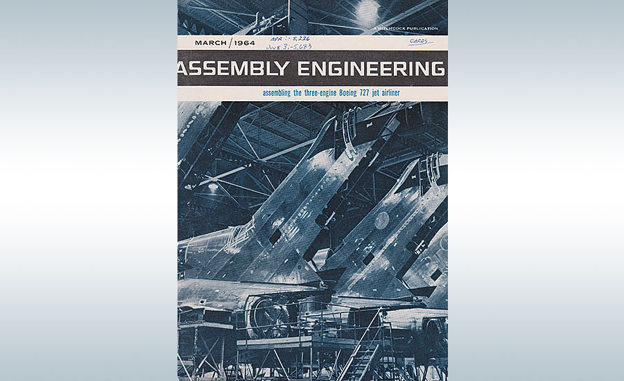 Assembly mag covering boeing