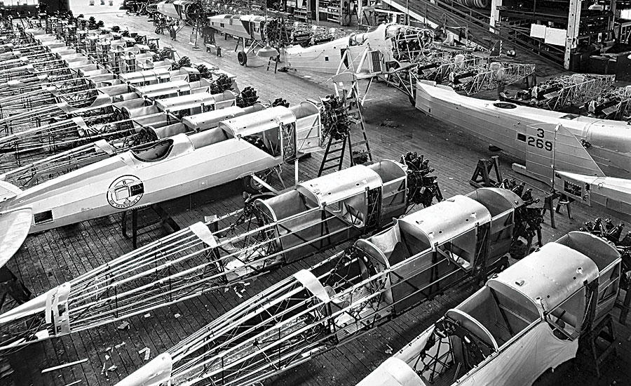 Boeing's assembly line innovation