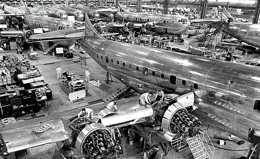 Boeing Has A Tradition Of Assembly Line Innovation 2016