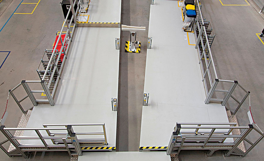 Airbus Improves Wing Assembly With Mobile Platforms