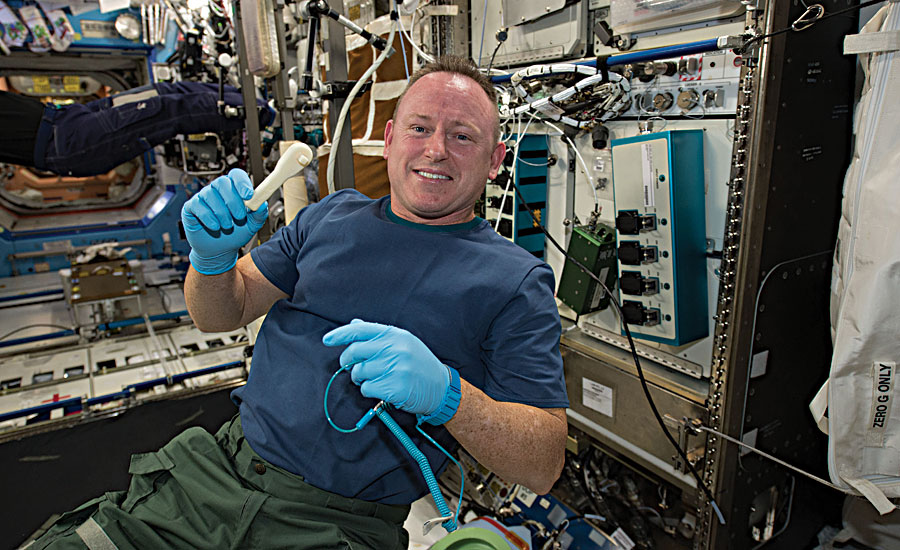Space Station Crew Use 3D Printer to Make Wrench