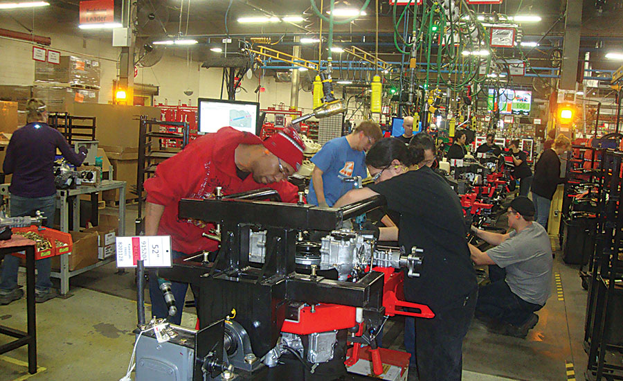Automation Boosts Productivity at Ariens