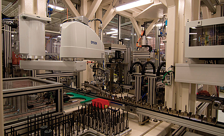 Assembly Line Systems : A tier supplier implements flexible automated assembly