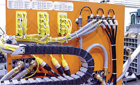 Streamlined Wiring Quickens Tire-Assembly-Machine Production