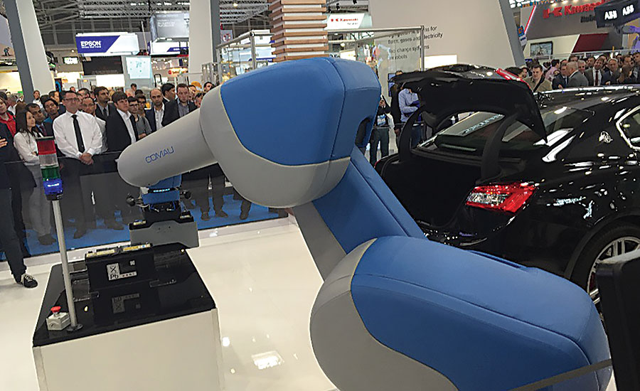 Robots Stand Out at Automatica