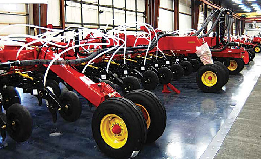 Innovative Conveyor Speeds Up Assembly of Farm Equipment