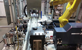 Automated Assembly System Moves Hitachi in Right Direction