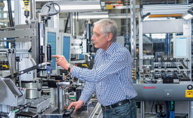 German Factory Implements Industry 4.0