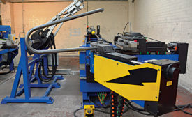 Automated Tube-Bending Cell Boosts Productivity at Wheelbarrow Manufacturer