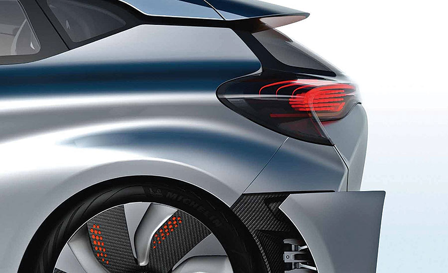 Adhered Fasteners Ease Assembly of Renault Concept Car
