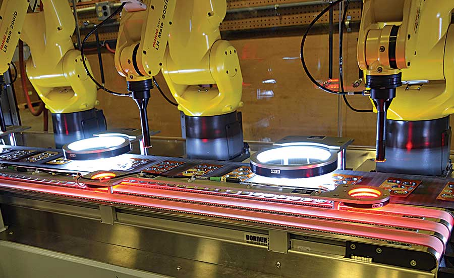 Low-Profile Conveyors Move Small Parts for Assembly