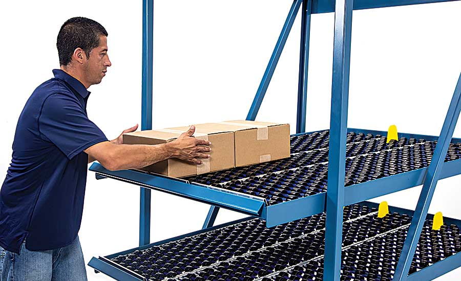 Flow racks ensure fast, accurate picking at distribution center