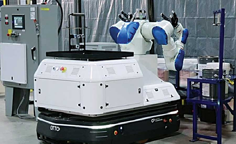 Mobilized Robot Brings Hirotec Closer to Lights-out Manufacturing
