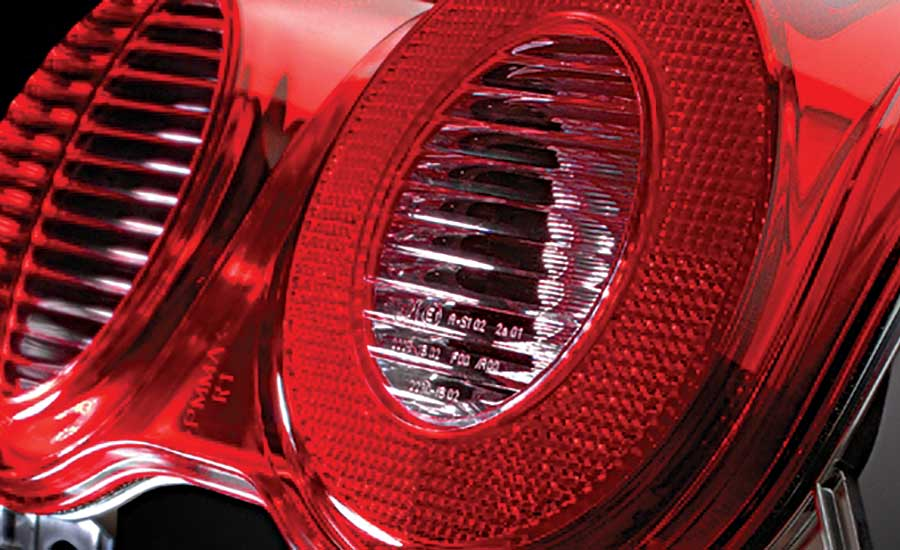 Vibration Welder Assembles Automotive Taillights