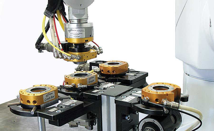 How To Select a Robotic Tool Changer