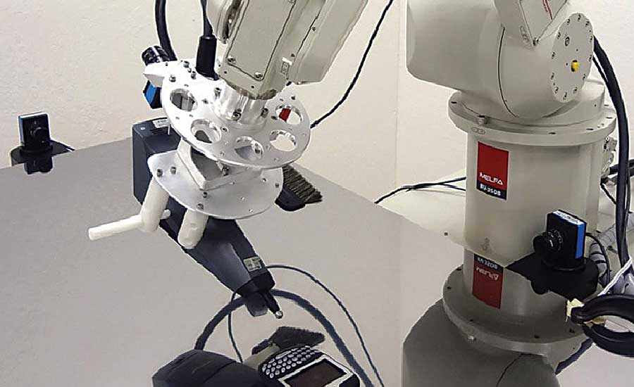 Robots Increase Efficiency of Electronic Testing Application