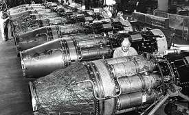 General Electric Pioneers Jet Engine Manufacturing