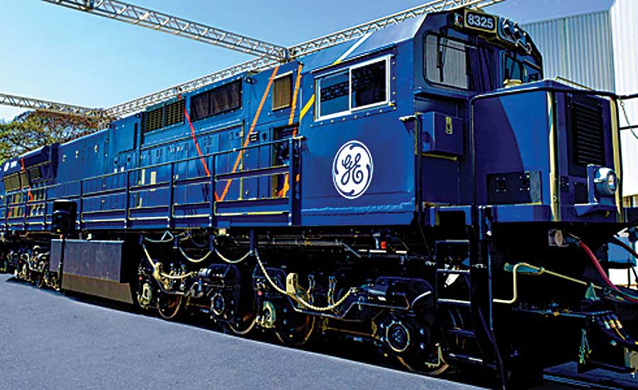 General Electric Leads the Way in Locomotive Manufacturing