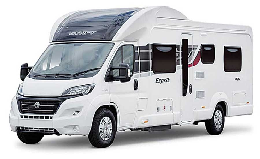 Adhesive assembles composite parts for new motorhome