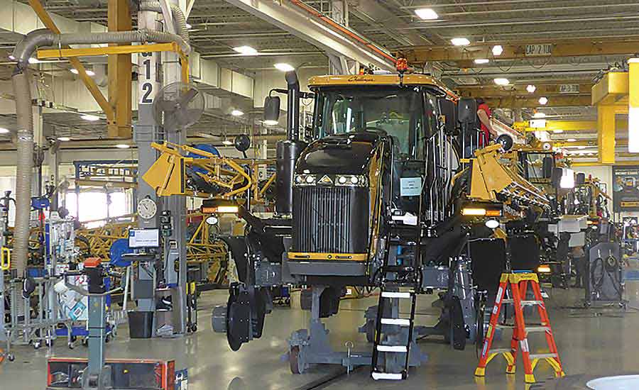 2017 Assembly Plant of the Year: AGCO Leads the Field With Lean Technology