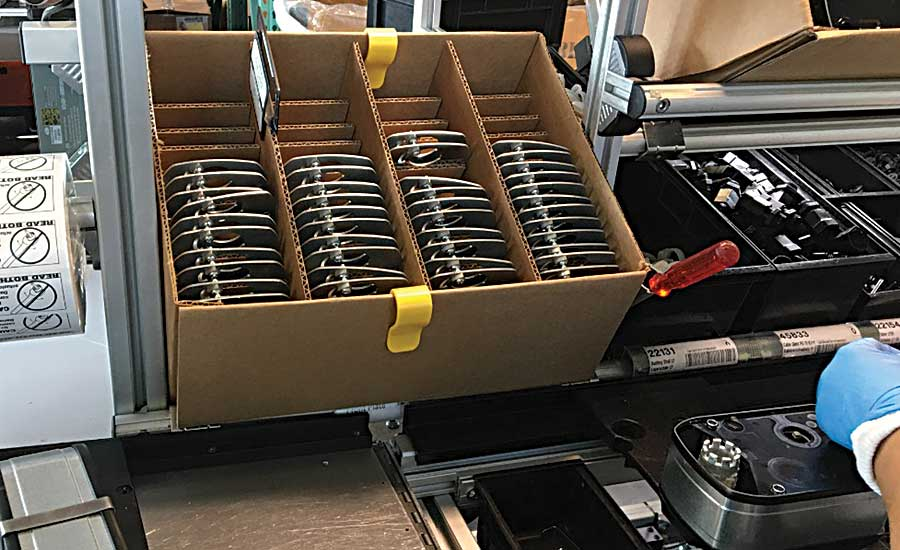Innovative Packaging System Protects Parts for HVAC Manufacturer