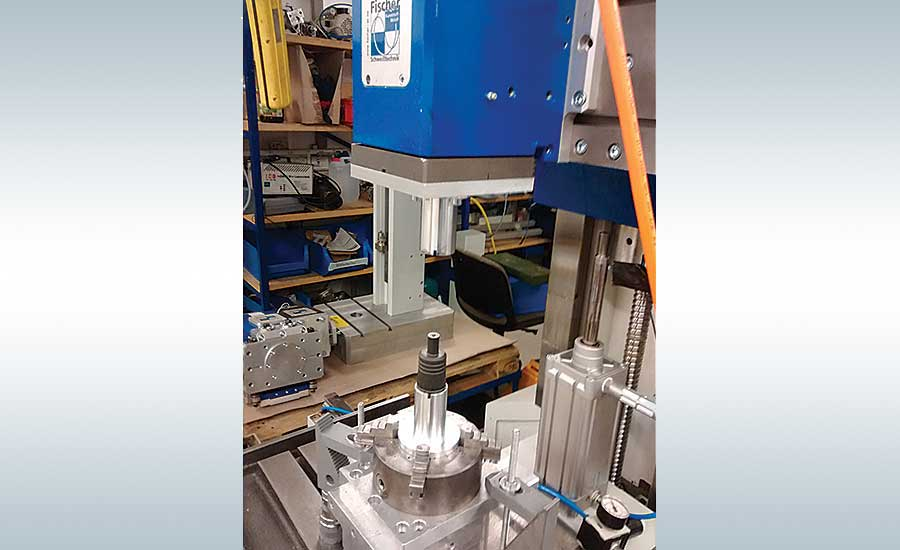 Flexible Assembly Machine Combines Multiple Plastics Joining Processes