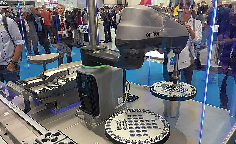 Robots Rule at Automatica