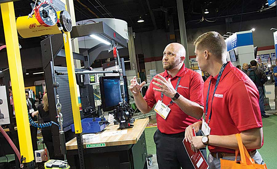 New Technologies Impress at the Assembly Show