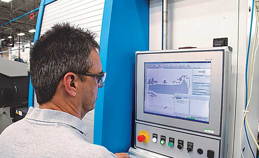 Lean, high tech help aerospace supplier compete.