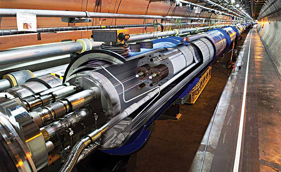 Vacuum Pump Aids Particle Physics Research at CERN