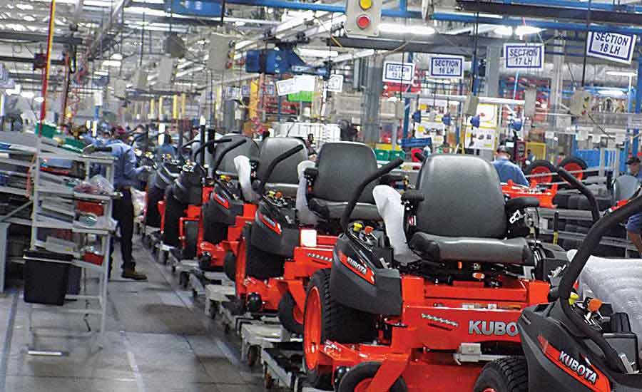 Error-Proofing Ensures Quality Assembly at Kubota