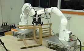 Robotic System Autonomously Assembles an IKEA Chair