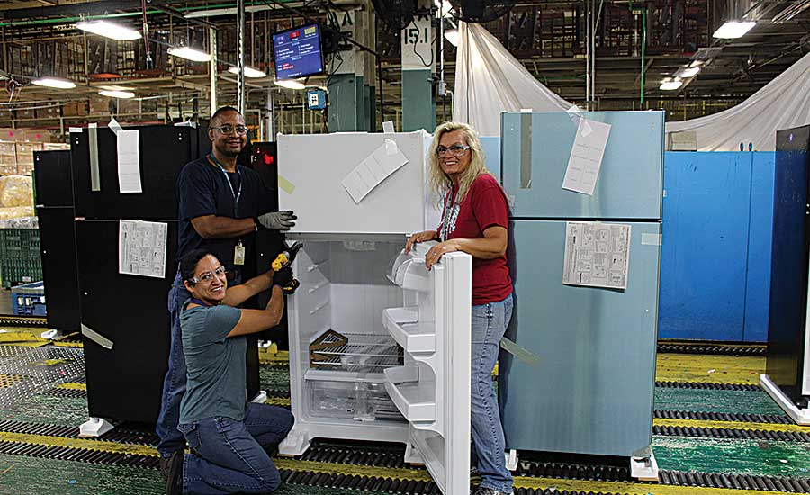 Manufacturing Is Cool at GE Appliances' Refrigerator Factory