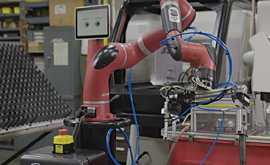 Machine Shop Increases Efficiency With Collaborative Robot