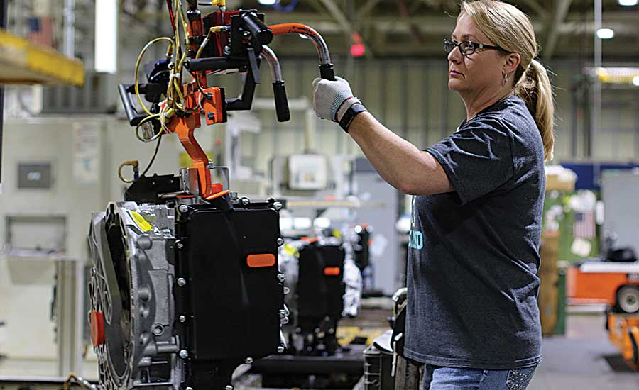 Ford Shifts Flexible Assembly Into High Gear