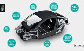 New Design Cuts Vehicle Body Weight in Half