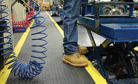 Anti-Fatigue Mats Keep Workers on Their Feet